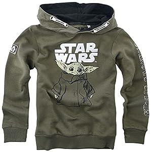 Star Wars The Mandalorian - Child Sketch - Grogu Unisex Sudadera con Capucha Caqui 37