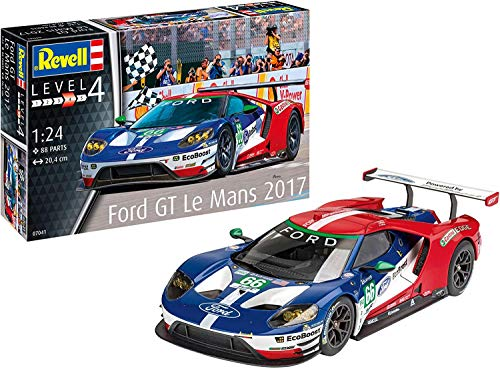 Revell Maquette de Voiture Ford GT - Le Mans - échelle 1/24 - 88 pièces
