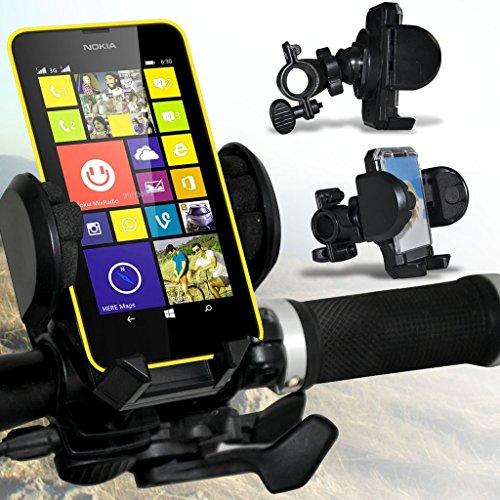 Acer Liquid Z6 (Nero) RIVERO del manubrio della bici della bicicletta universale Phone Holder Cradle Mount