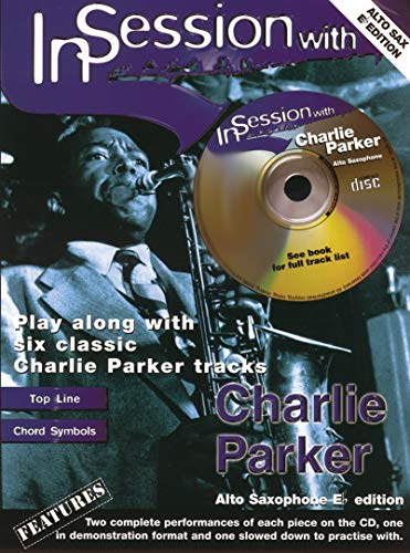 In Session with Charlie Parker (Alto Saxophone with Free Audio CD)