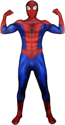 ahorra hasta un 80% ASJUNQ ASJUNQ ASJUNQ Extraordinario Spider-Man últimas Mallas Musculares Ropa De Todo Incluido De Impresión Digital Pelota De Disfraces Siameses Accesorios De Película,Adult-XS  el mas reciente