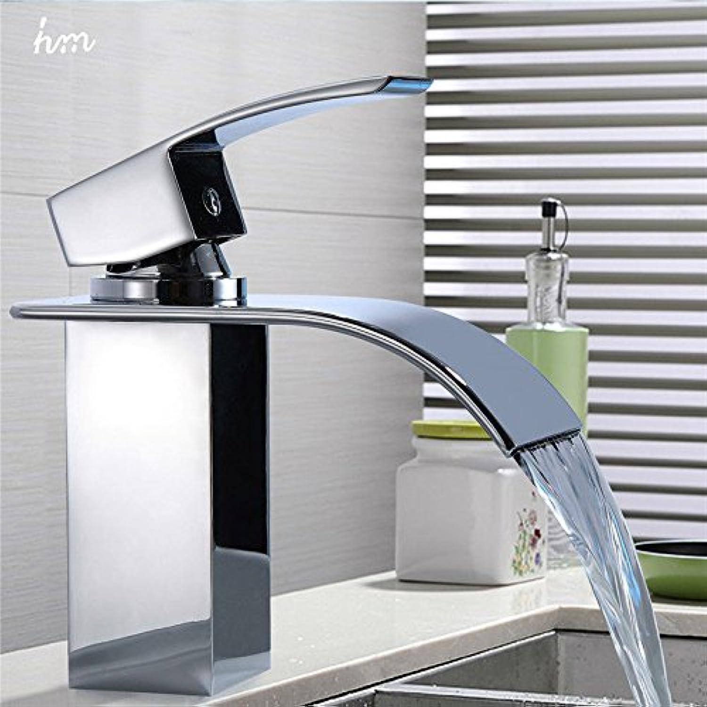 Maifeini Plunge Pool Fittings Chrome-Plated Single Handle Faucet Single Hole Bathroom Faucet Universal Basin Mixer