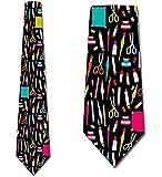 Photo de WILHJGH Cravates d 'art cravate de l ' artiste cravate de l 'artiste par trois touriste