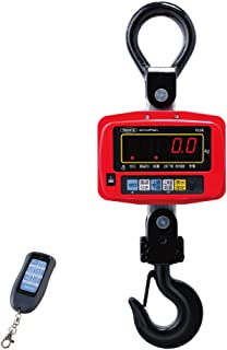 YAWATA デジタルクレーンスケール 秤量1t 最小単位500g リモコン標準装備 HJA-1T