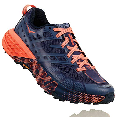 HOKA Women's Speedgoat-2 Shoe for Trail Running on Treadmill