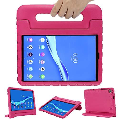 GOZOPO Niños Funda para Lenovo Tab M10 FHD Plus (2ª Generación) 10,3 pulgadas TB-X606F, Ligero & A prueba de choques Tab M10 FHD Plus Funda Protectora -Rosa