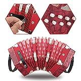 ABS a fisarmonica a 20 pulsanti per gli amanti della musica(Red)