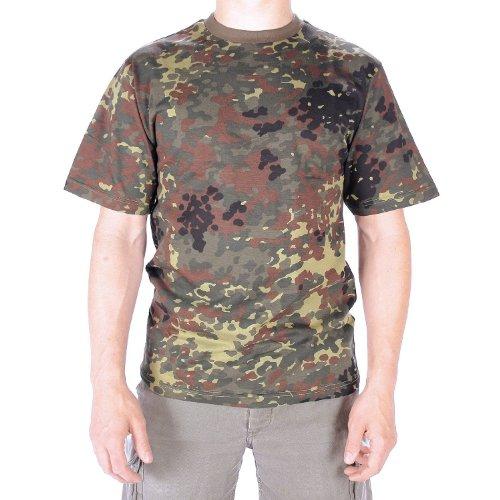 CAMISETA T-SHIRT manchas de camuflaje - - camuflaje, Flecos Camuflaje, M