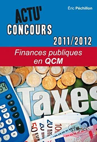 Finances publiques en QCM 2011-2012