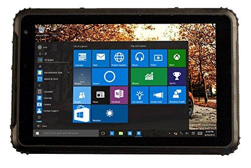 HiDON - Tablet PC resistente de 8', 10000 mAh, batería Android Tablet rugosa Tablet PC 4G RAM + 64G ROM GPS NFC antigolpes