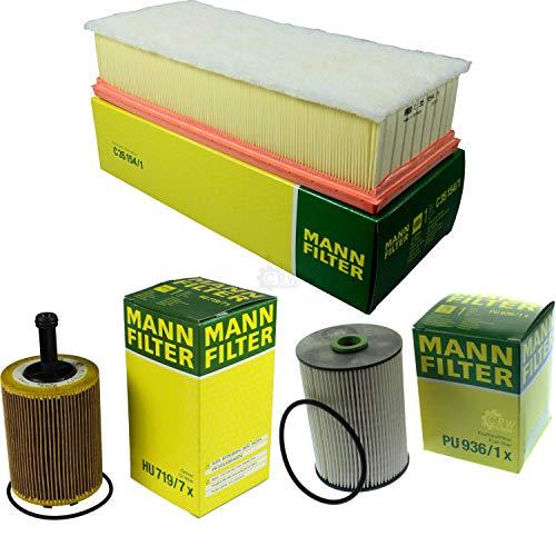 MANN-FILTER Inspektions Set Inspektionspaket Kraftstofffilter Luftfilter Ölfilter