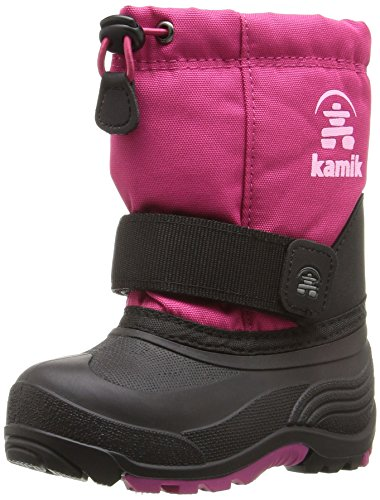 Kamik Baby-Girl's Rocket Snow Boot, Rose, 8 Medium US Toddler