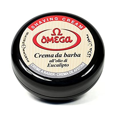 Omega 46001 Shaving Cream In Bowl