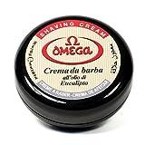 Omega Jabón en Crema Afeitar 150gr, Único, Estándar