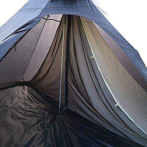小川キャンパル(OGAWA CAMPAL) テント インナー ピルツ7専用 ハーフインナー [1~2人用]  3532