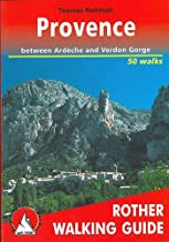 Provence a Rother Walking Guide (English and German Edition)