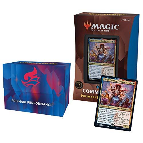 Magic The Gathering Strixhaven Commander Deck – Prismari Performance (Blue-Red)