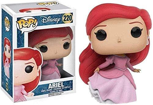Juguete Ariel muñeca película La Sirenita Vinilo Paisaje decoración Adornos Resina artesanía colección de muñecas