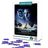 Puzzle de 500 piezas Avatar Jack Sally Classic Sci-Fi Jigsaw Star póster Juego de rompecabezas, desafiante juguete educativo regalo 52X38cm