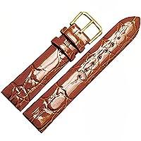 ドットタウン 腕時計レザーベルト 革 取付タイプ 取付18 20mm LB206-BR18 [並行輸入品]