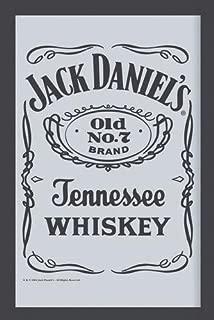 7//Black Label Close Up Espejo Decorativo con Impresi/ón Jack DanielS Old N/° 22cm x 32cm