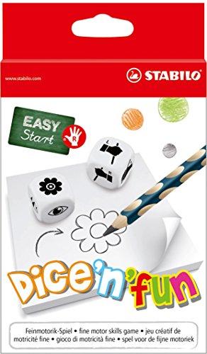 Feinmotorik-Spiel für Rechtshänder- STABILO dice\'n\'Fun - 2-6 Spieler ab 5 Jahren