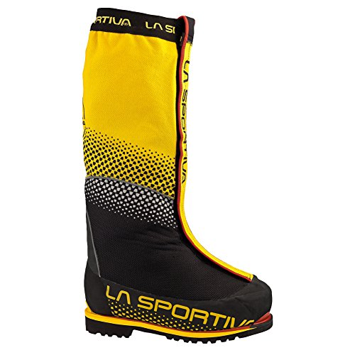 Price comparison product image La Sportiva Olympus Mons Evo Men's Mountain Climbing Mountaineering Boot,  Yellow / Black,  44