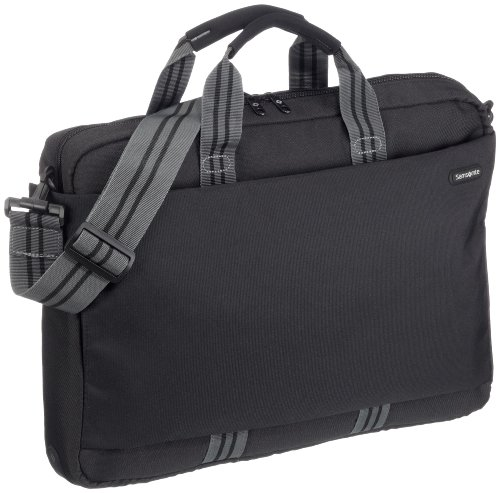 "Samsonite Laptoptasche NETWORK LAPTOP BAG L 17.3"" JET BLACK"