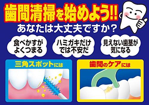 やわらか歯間ブラシSSS-Sお徳用40本