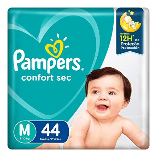 Fd Pampers Confort Mega Sec M, Pampers