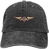 Custom Harley Davidson Sportster Motorcycle Logo Fashion Baseball Caps for Man Black,Sombreros y Gorras
