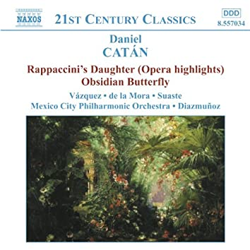 CATAN: Rappaccini's Daughter (Highlights) / Obsidian Butterfly