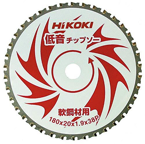 日立工機 ハイコーキ チップソー 軟鋼材用 低音 180mm×20 38枚刃 00329036 直送品