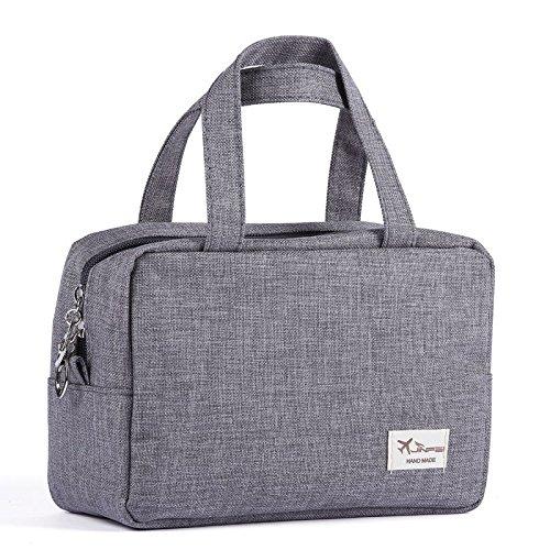 MZP Corée sac à cosmétiques portable portable de grande capacité dame sac de lavage de Voyage d'affaires sac de rangement étanche Petit , gray