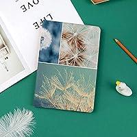 新しい ipad pro 11 2018 ケース スリムフィット シンプル 高級品質 手帳型 柔らかな内側 スタンド機能 保護ケース オートスリープ 傷つけ咲くタンポポの花ふわふわソフト純度香り天然有機色コラージュ