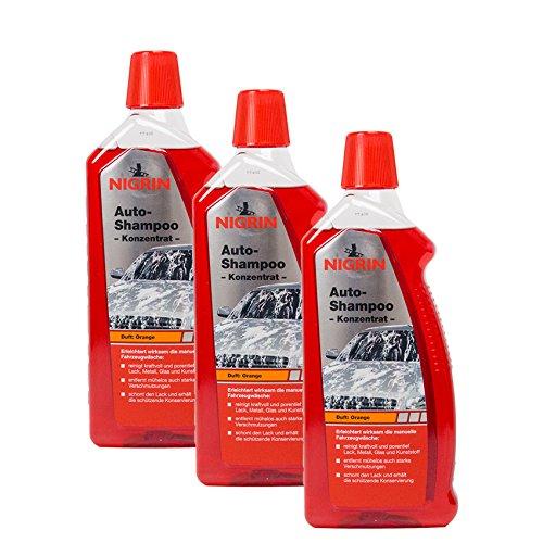 Nigrin 3X 73920 Auto-Shampoo Konzentrat 1 Liter