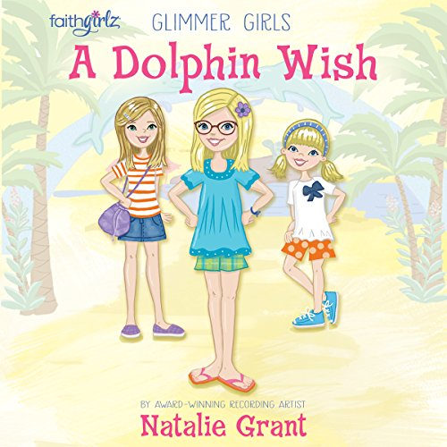 A Dolphin Wish audiobook cover art