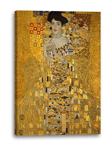 Printed Paintings Leinwand (80x120cm): Gustav Klimt - Adele Bloch-Bauer I (1907)