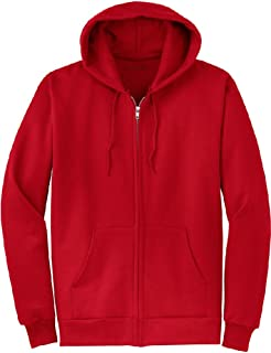 Abetteric Mens Hoodie Cotton Baseball Varsity Jacket Mustard Mutil Color Hooded Coat