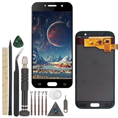 YWL-OU Sostituzione dello Schermo per Samsung Galaxy A5 LCD Display e per A520 A520F Touch Screen Digitalizzatore con Multi-Strumento (Nero)