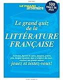 Le grand quiz de la littérature française