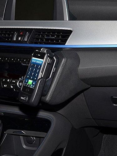 KUDA 2145 Halterung Kunstleder schwarz für BMW X1 (F48) / X2 (F39) ab 2015