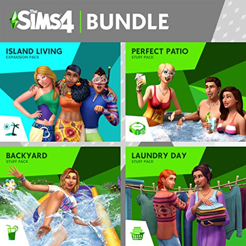 The Sims 4 Bundle - Fun Outside - PS4 [Digital Code]