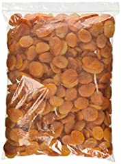 Dried Turkish Apricot  5 Lb Bulk Bag Guaranteed Fresh and High Quanlity Great for Snack, Cooking and Baking Koshered Sold under the brand of Green Bulk!