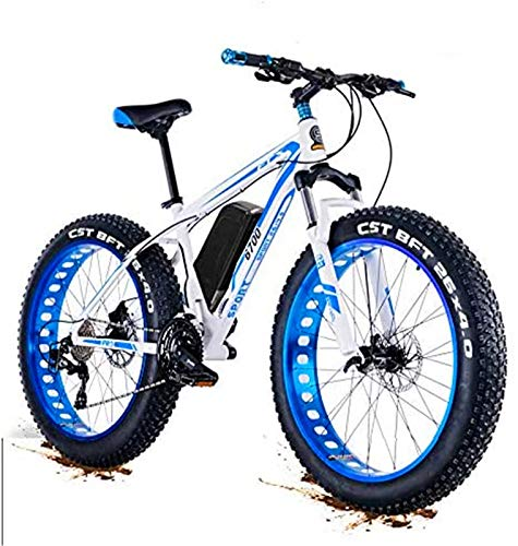 Bicicleta eléctrica Bicicleta eléctrica por la mon Actualizar 48V 1500W eléctrico montaña de la bicicleta 26 pulgadas Fat Tire E-Bici (50-60km / h) Suspensión del crucero de Mens Sports Bike MTB compl