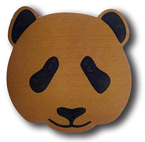 ToeJamR Stomp Pad – Panda Bear Face – Marron