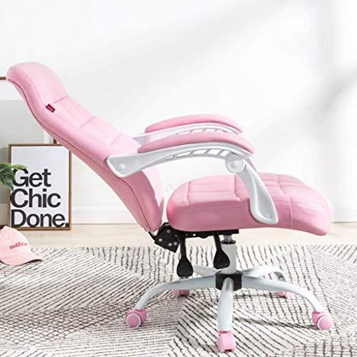 Bürostuhl Ergonomisch Ergonomischer Stuhl Executive Office Stühle, Ergonomischer Stuhl, Home Computer Stuhl, Büro-Boss Stuhl, Aufzug Gaming Stuhl, Einstellbarer Drehstuhl, PU-Leder LQHZWYC