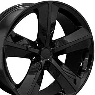 OE Wheels 20 Inch Fits Dodge Challenger Charger SRT8 Magnum Chrysler 300 SRT8 DG05 Gloss Black 20x9 Rim Hollander 2357