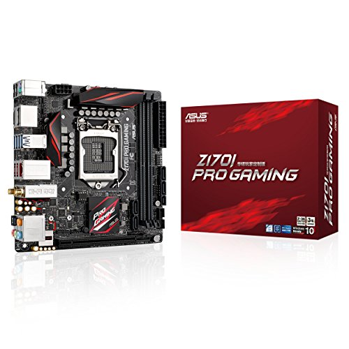 ASUS Z170I Pro Gaming - Placa Base (DIMM, DDR4, Dual, Intel, PC, UEFI AMI)