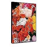 RTCKF Noble Flor Pintura al óleo sobre Lienzo Arte Clásico Rosas Cuadros Animales decoración del hogar Sala Lienzo Pintura Arte impresión A5 60x90cm